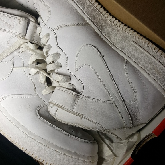 Nike Af1s Poshmark Cocaine White ShoesRestored dxeCoB